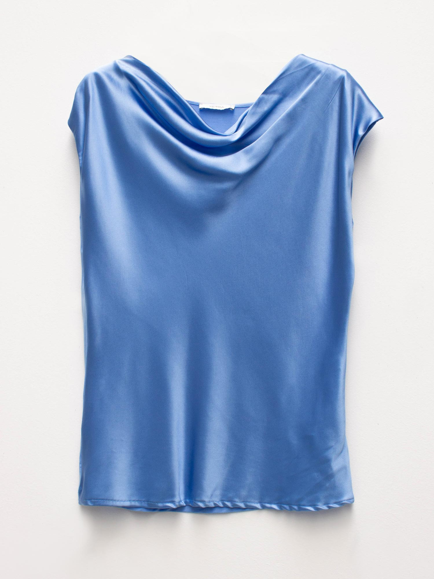 SILK & VISCOSE TOP